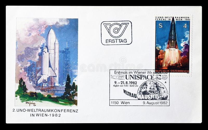 Cancelled First Day Cover Letter Printed By Switzerland ...