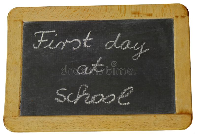 First day of School royalty free stock photos
