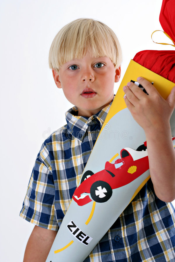 First day of school in Germany royalty free stock photography