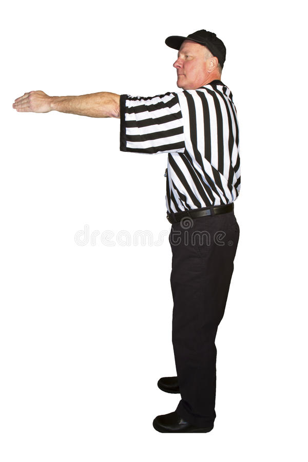 First Down royalty free stock image