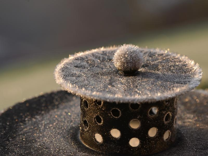 First frost royalty free stock photography