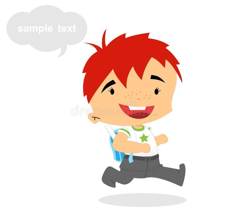 Download First grader - School Boy stock illustration. Image of hold - 20846171