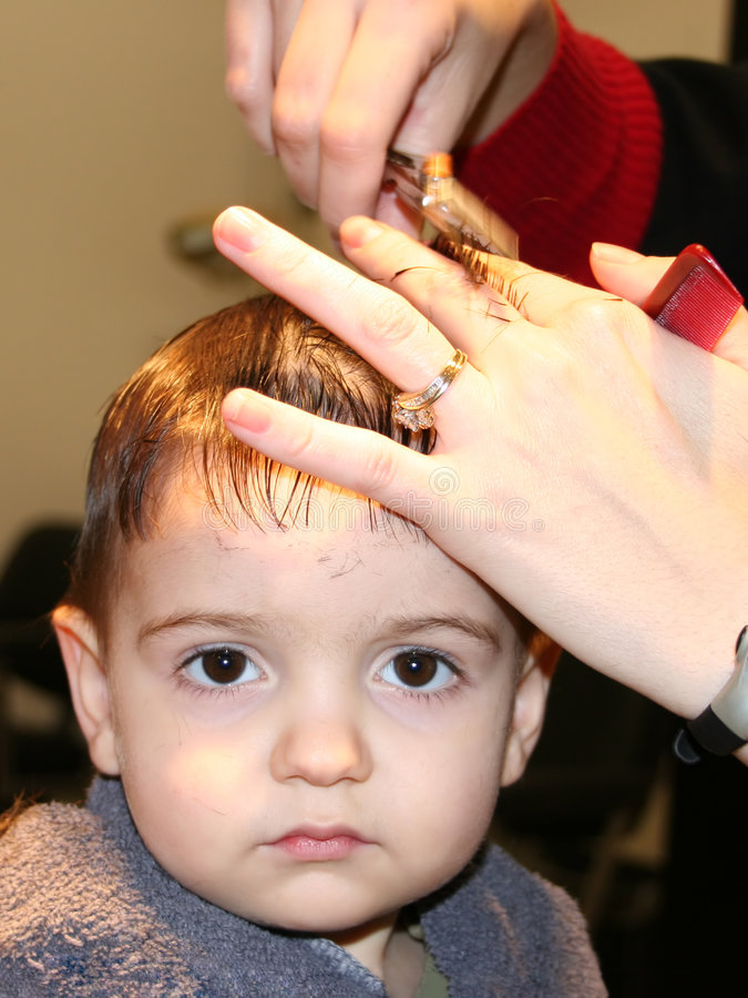 Download First Hair Cut Stock Photography - Image: 57892