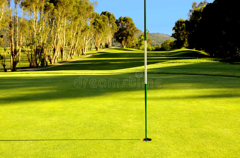First Hole Stock Images