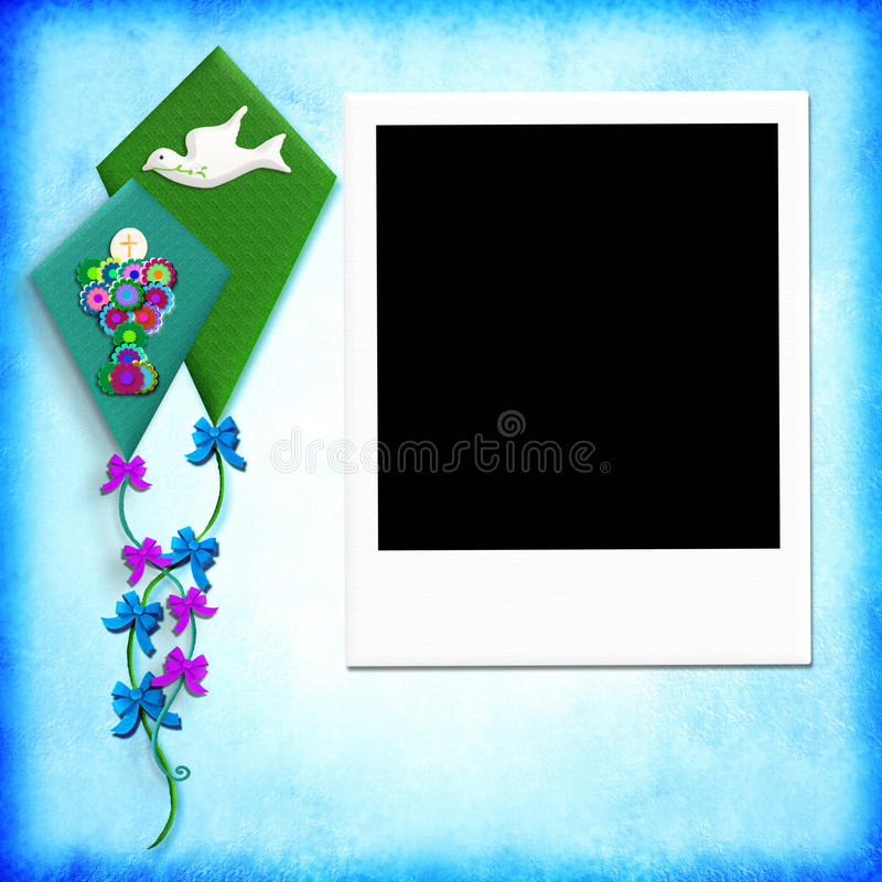 Free First Holy Communion Photo Frame Royalty Free Stock Image - 49298176