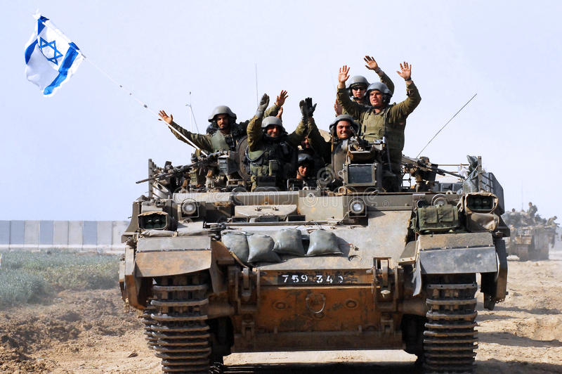 Download The First Israeli Troops Leaving Gaza Strip Editorial Stock Image - Image: 27684199
