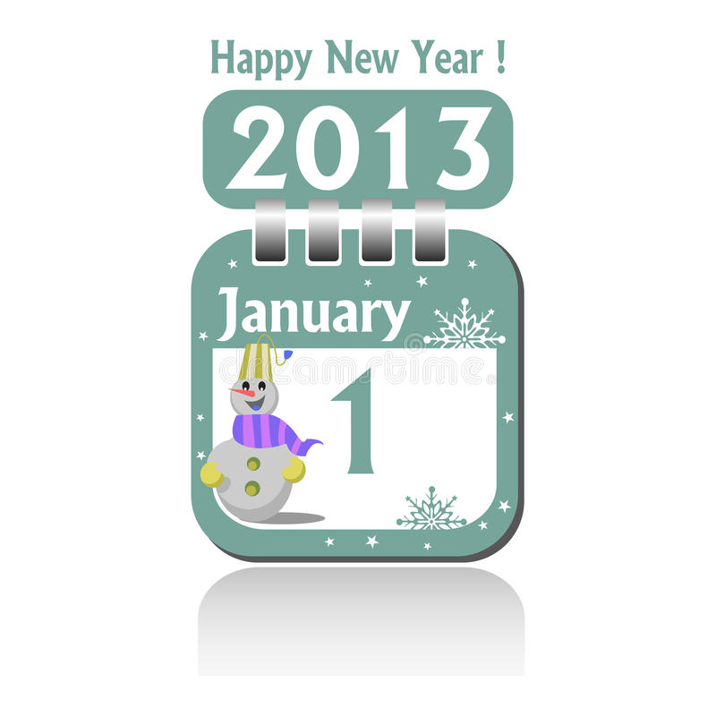 Download First Of January Stock Image - Image: 27677151