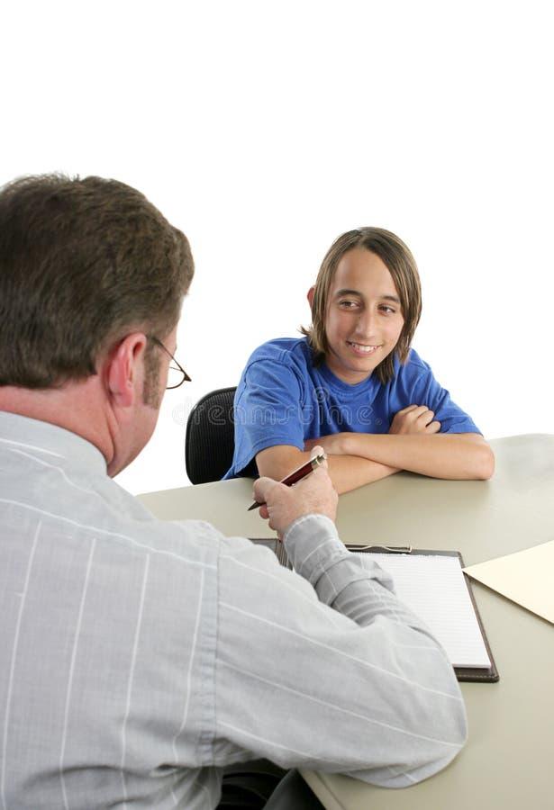 First Job Interview stock photos