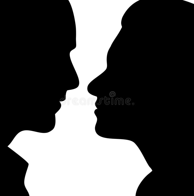 Download First Kiss stock vector. Illustration of beauty, commitment - 13678755