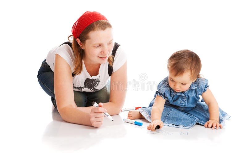 Download First letters stock image. Image of teacher, childhood - 10894679