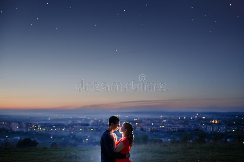 The first love royalty free stock photo