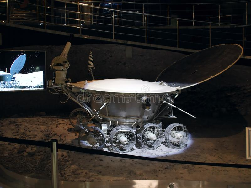 The first lunar rover. `Lunokhod-1`. stock photo