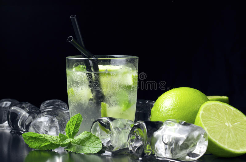First mojito royalty free stock images