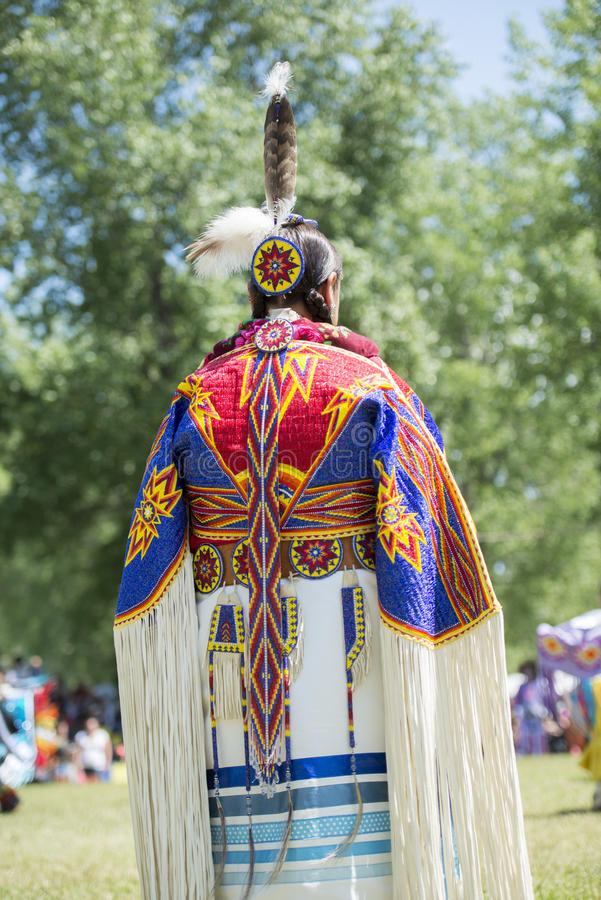 First Nation judge royalty free stock image