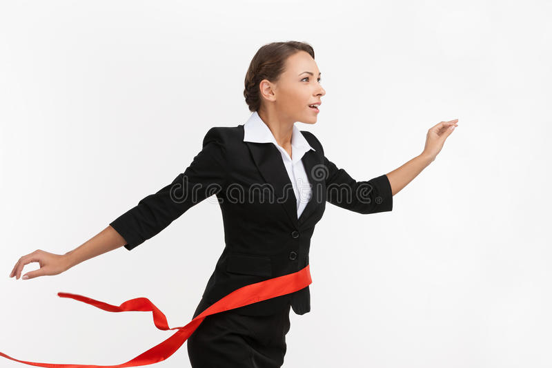 First place in business. stock image