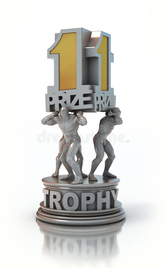 First prize trophy