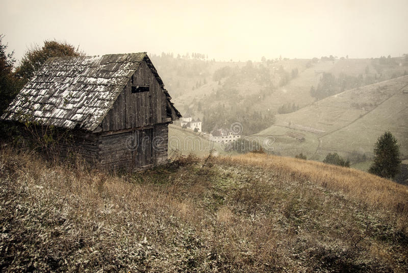 Download First snow stock image. Image of path, cold, frosty, country - 28796817
