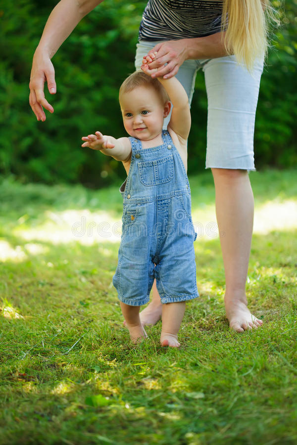 First Steps Stock Image
