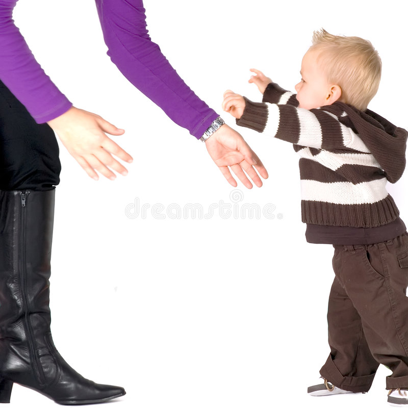 First Steps Stock Photography
