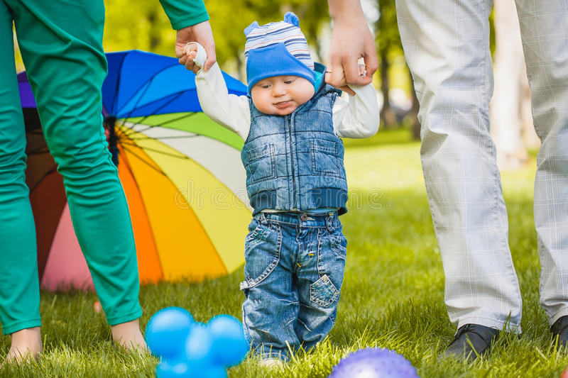 Download First steps stock image. Image of months, hand, little - 40614343