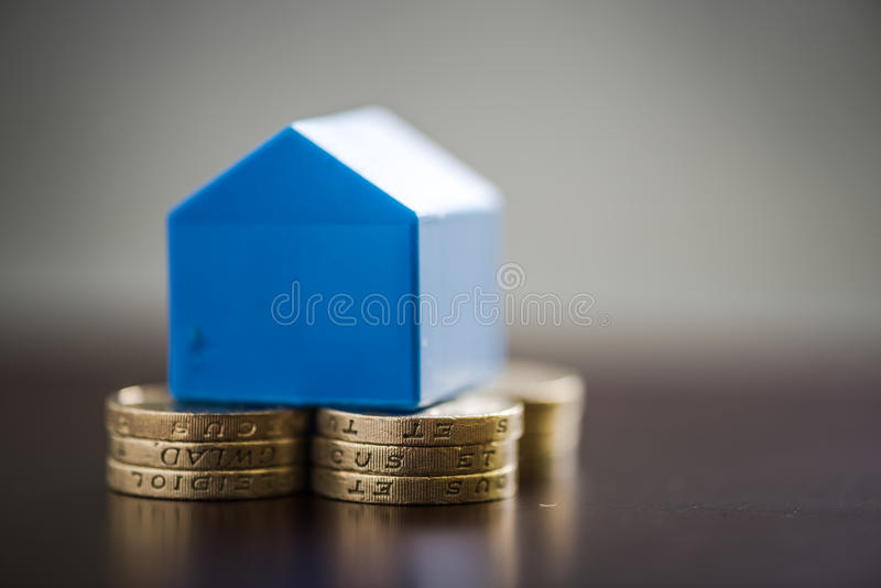 First time home buyers savings stock image