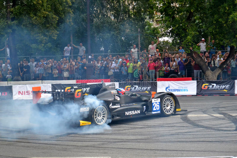 Download For The First Time In Tyumen 18.08.2013 Grandiose Nismo G-Drive Editorial Stock Image - Image: 33006869