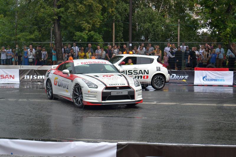 Download For The First Time In Tyumen 18.08.2013 Grandiose Nismo G-Drive Editorial Photo - Image: 33006921