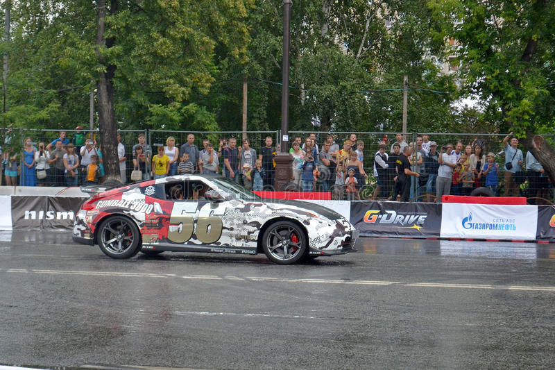 Download For The First Time In Tyumen 18.08.2013 Grandiose Nismo G-Drive Editorial Photography - Image: 33006947