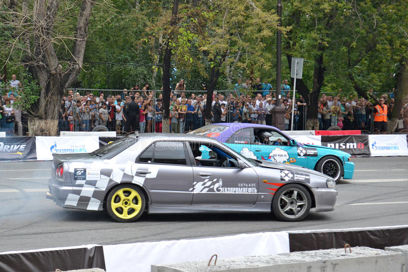 Download For The First Time In Tyumen 18.08.2013 Grandiose Nismo G-Drive Editorial Image - Image: 33007240