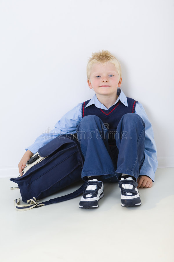 First-year Pupil Royalty Free Stock Images