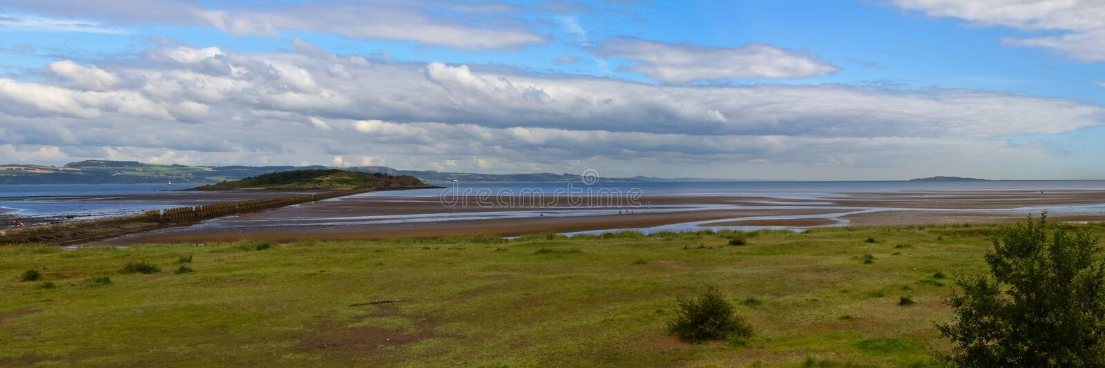 Download Firth of Forth stock image. Image of lighthouse, cramond - 20885655