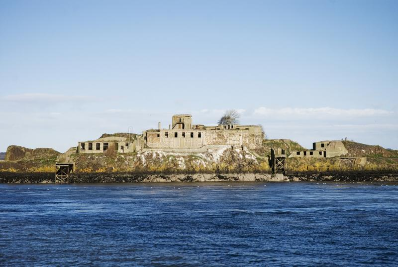 Firth of forth defences royalty free stock images