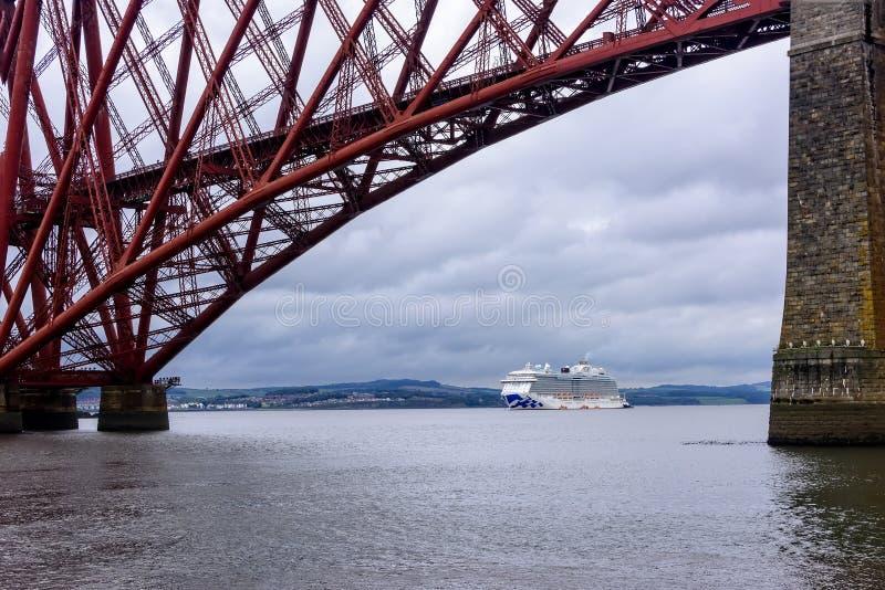 Firth van vooruit Rivier in Schotland royalty-vrije stock afbeeldingen