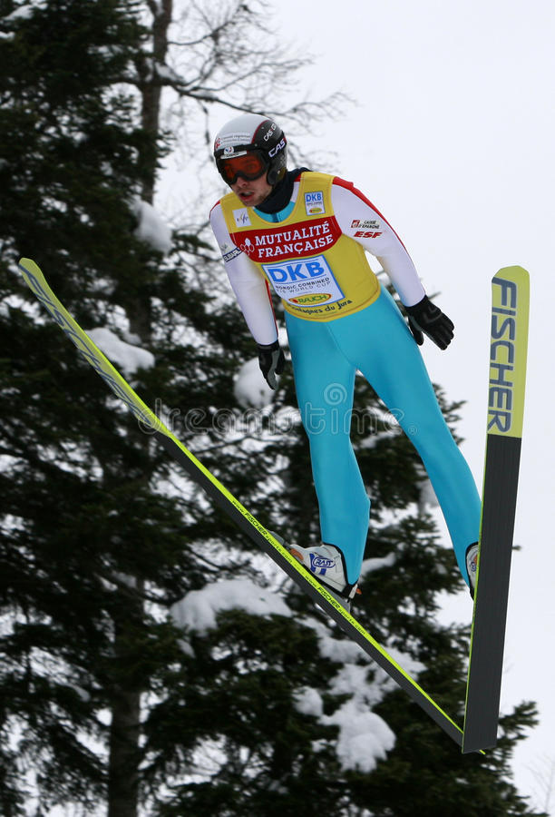 Download Fis World Cup Nordic Combined Editorial Stock Image - Image: 12563074