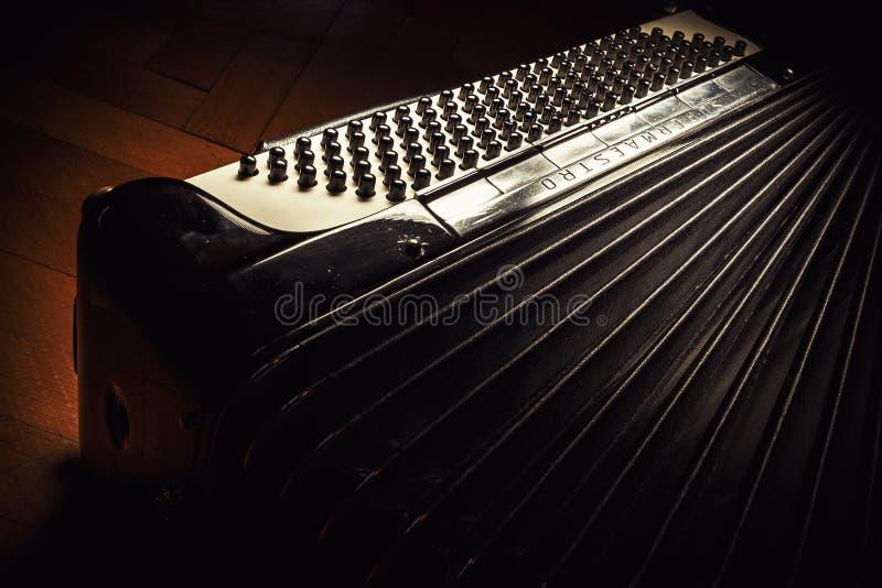 Fisarmonica di Dallape dall'Italia fotografia stock