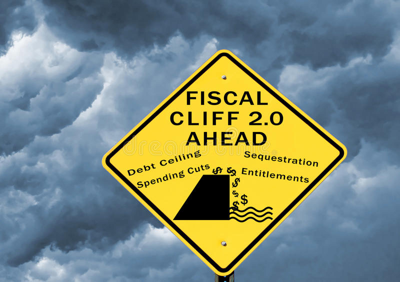 Download Fiscal cliff 2.0 stock photo. Image of financial, entitlements - 28438838
