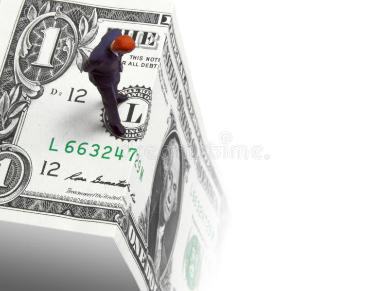 Fiscal Cliff Royalty Free Stock Photography