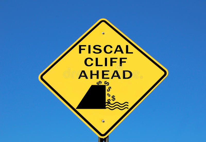 Download Fiscal cliff stock image. Image of budget, money, bankrupt - 27917955