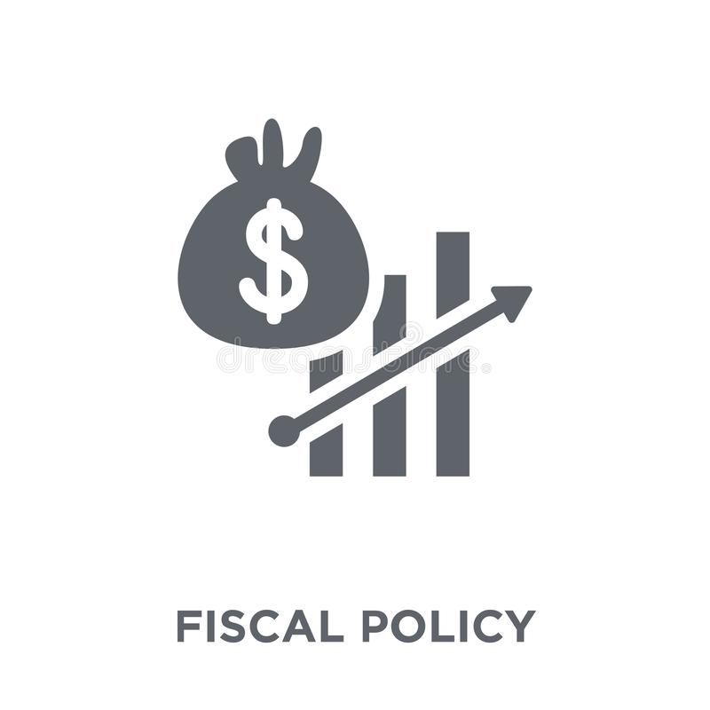 Fiscal policy icon from Fiscal policy collection. Fiscal policy icon. Fiscal policy design concept from Fiscal policy collection. Simple element vector vector illustration
