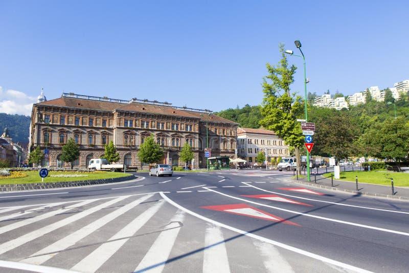 Fiscalização da escola de Cluj Napoca imagem de stock