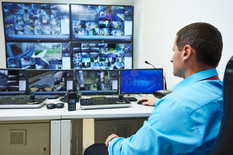Fiscalização do vídeo da segurança foto de stock royalty free