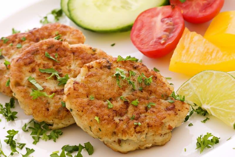Fisch-Burger lizenzfreie stockbilder