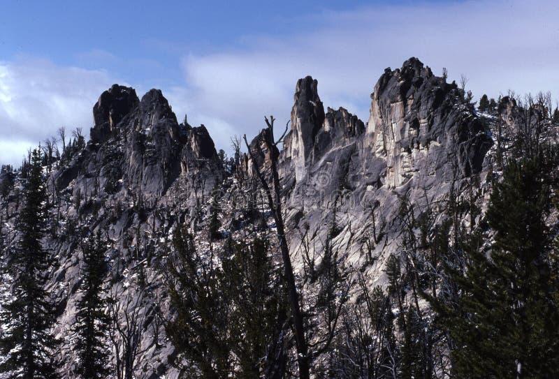 Fisch-Flosse Ridge stockfotografie