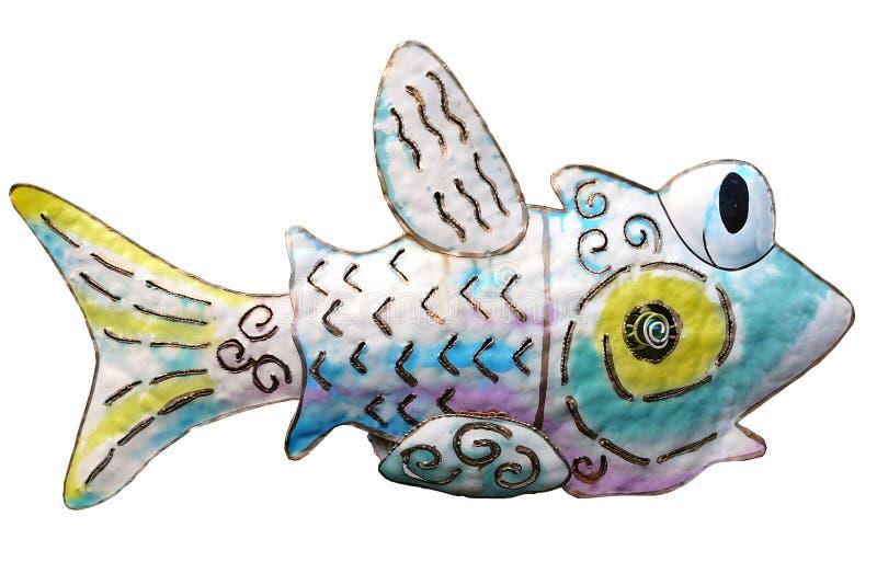 Fisch-Kunst stockfoto. Bild von hinterhof, aqua, dekor - 2131800