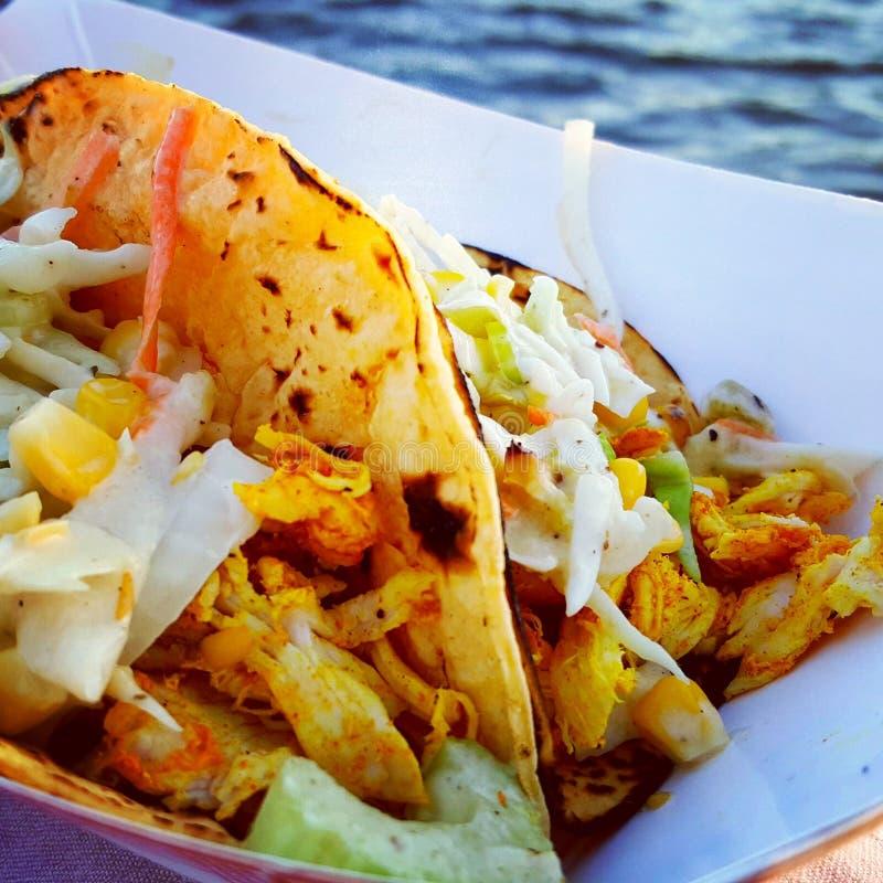 Fisch-Tacos stockfoto