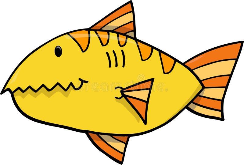 Fisch-vektorabbildung vektor abbildung