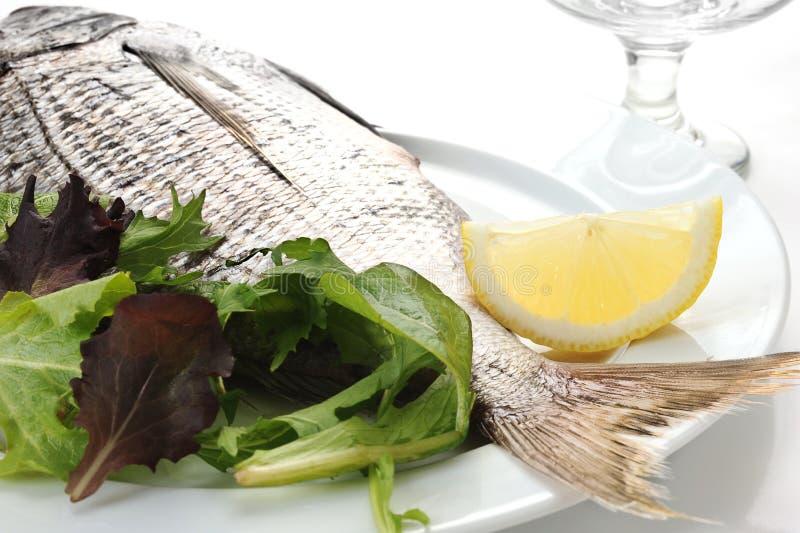 Download Fische stockbild. Bild von mittagessen, gegrillt, frische - 27727771