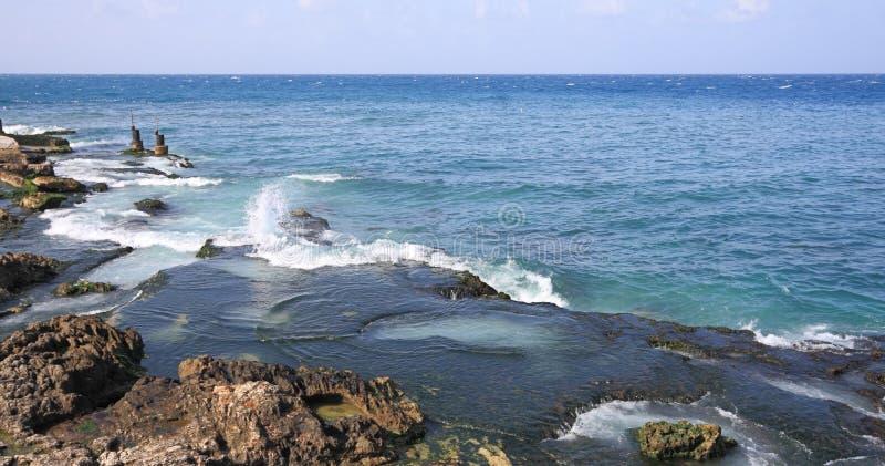 Fischen hockt (der Beirut-Libanon) lizenzfreie stockfotos