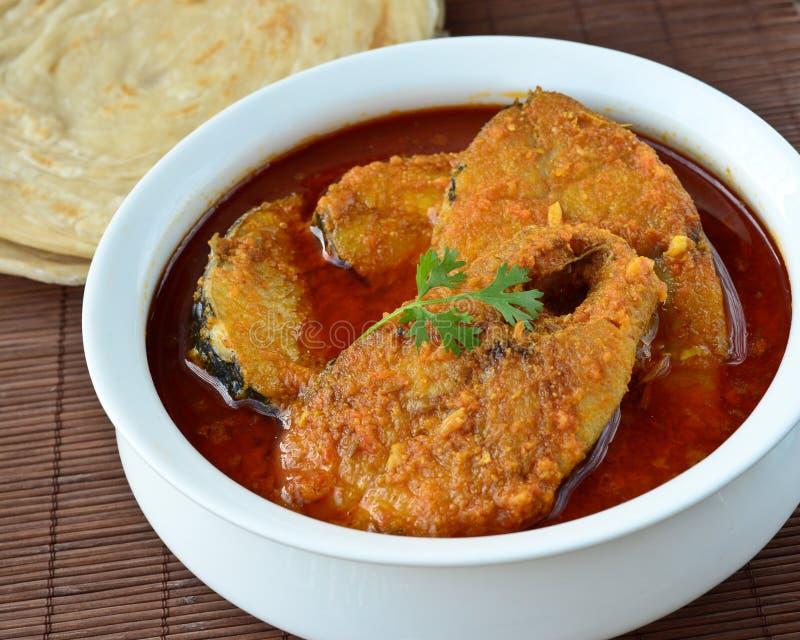 Fischen Sie Curry lizenzfreie stockbilder