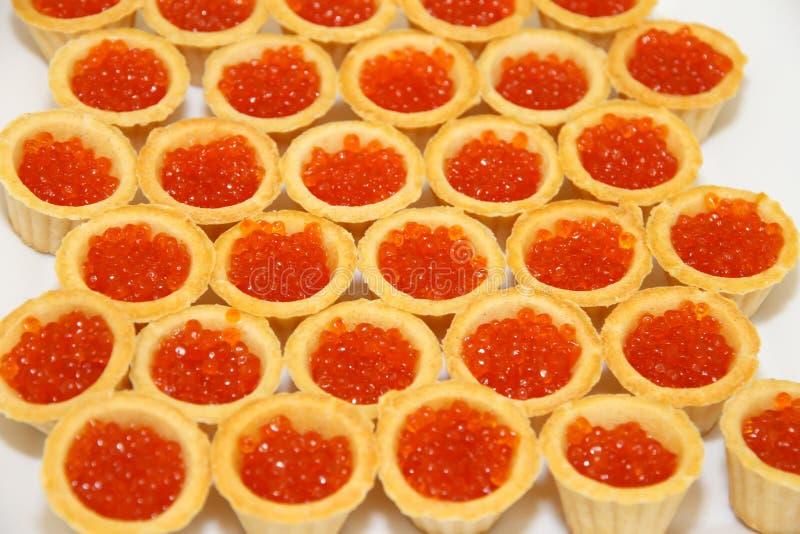 Fischen Sie einen Zartheitskaviar lizenzfreie stockfotografie